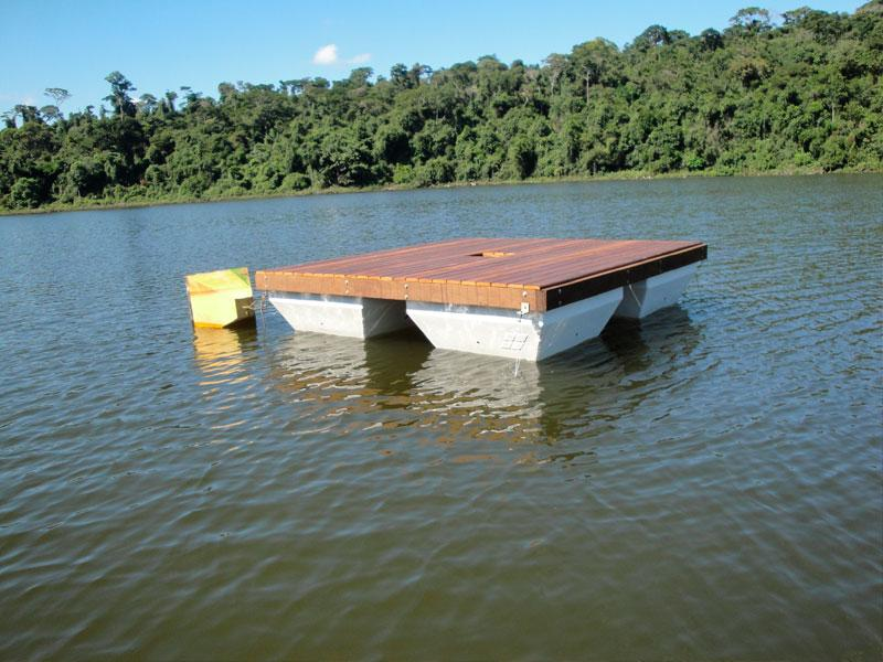 Plataforma Flutuante – Parque Estadual Rio Doce – Ipatinga