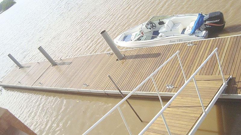 Comprar deck flutuante