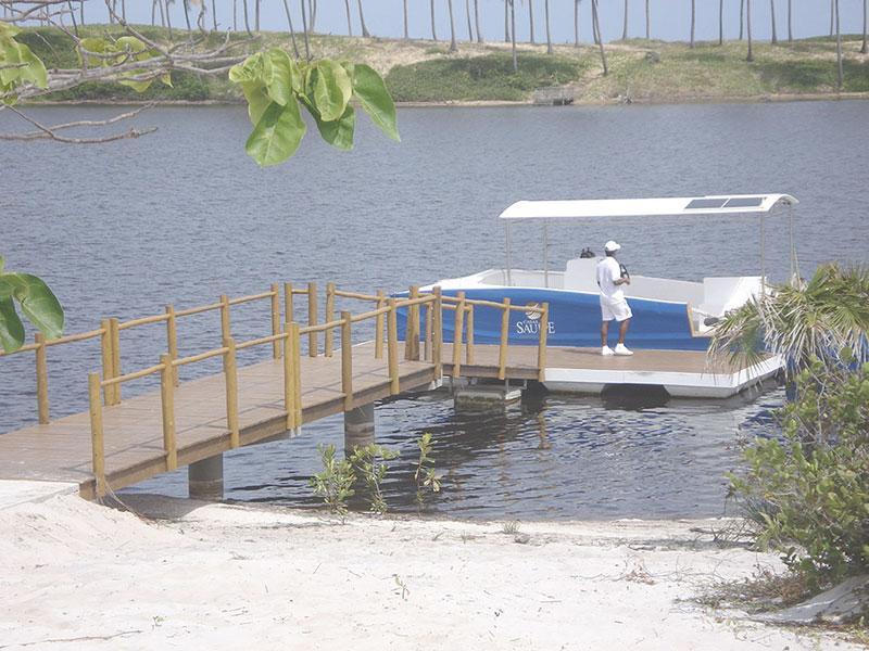 Deck flutuante