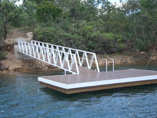 Deck flutuante preço